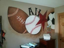sports murals for bedrooms sports mural in little boys room just for jaxten pinterest