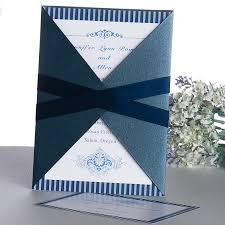 wedding invitations blue contemporary blue stripes wedding invitation ukf175 ukf175