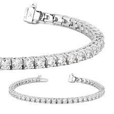bracelet diamond gold tennis white images 14kt white gold diamond tennis bracelet union diamond jpg