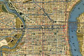 Chicago Trolley Map by Tram Streetcar Extinction Is This Statement Truthful