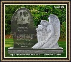 headstones for babies angel headstones for