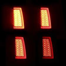 fiber optic tail lights for 03 06 silverado sierra smoke led tail lights w fiber optic tube