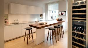 narrow kitchen with island narrow kitchen island contemporary with integrated
