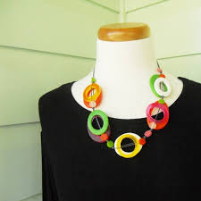 resin beaded necklace images Jelly donut resin bead necklace in juicy fruit colours strat jpg