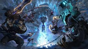 worldbreaker nasus and hecarim splash art skin wallpaper league