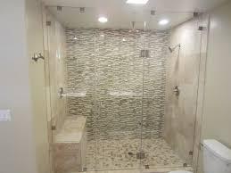 Bathroom Shower Stalls With Seat Shower Shower Corner Fiberglasss One Pieceone Sizesone In