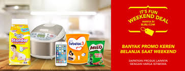blibli weekend blibli com promo fun weekend deals harga spesial untuk produk