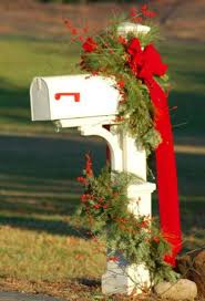 128 best decorating your mailbox images on pinterest mailbox outdoor christmas decoration ideas
