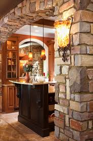 stone archway stone arch in house home design ideas