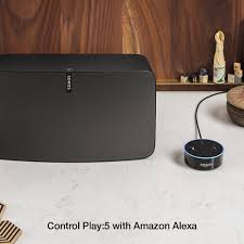 do prices on amazon uk go down on black friday sonos play 5 smart wireless speaker black amazon co uk electronics