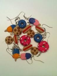 food earrings polymer clay food earrings 8 steps