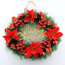 best quality red christmas wreath ornaments christmas tree