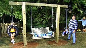 Backyard Swing Ideas Diy Tire Swings Diy