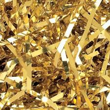 foil shreds foil metallic shreds 1kg metallic gold