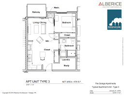 1 Bedroom Garage Apartment Floor Plans by Garage Apartments