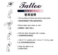 a clearance sale classic tattoo children tattoos waterproof female