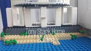 stark malibu mansion lego tony stark malibu ház építés youtube
