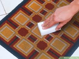 Can You Put Bathroom Rugs In The Dryer How To Clean A Rug 9 Steps With Pictures Wikihow