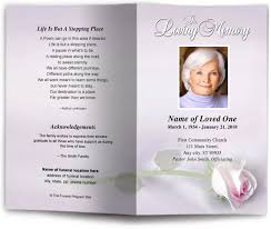 Make Funeral Programs Catholic Funeral Program Getting Information On How To Make
