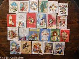 christmas cards to glitter collection on ebay