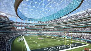 take a look inside l a u0027s new nfl stadium future home of the rams
