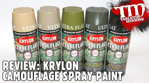review krylon camouflage spray paint youtube