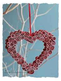 Decoration For Valentines Day by Paper Craft Decoration For Valentine U0027s Day Or Mother U0027s Day