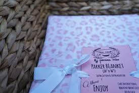 Cheetah Print Blanket Baby Blanket Swaddle Baby Blanket Pink Cheetah Print Baby