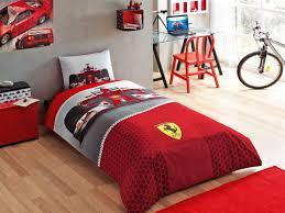 Ferrari Bed Tac Licensed Bed Linen Ferrari F1 Race Zorluteks Textile Tac