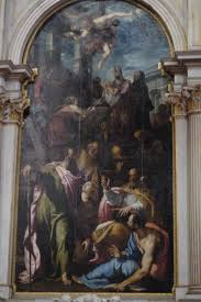 santa and baby jesus picture file basilica di santa gloriosa dei frari presentation of