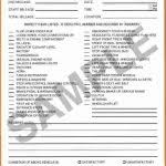vehicle inspection report template 10 inspection report format petition exle