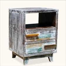 bedroom furniture stylish reclaimed wood nightstand reclaimed