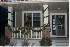 Decorative Christmas Garland With Lights by Outdoor Lighted Garland Home Design Ideas And Pictures