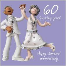 60th wedding anniversary wishes 60th wedding anniversary card co uk office products