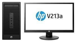 pc bureau avec ecran ordinateur de bureau hp 280 g2 mt avec écran 20 pouces z2j80ea