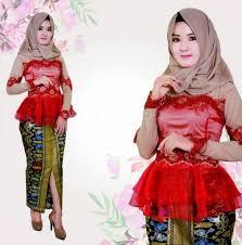 contoh gambar kebaya contoh kebaya muslim cantik untuk wisuda fashion muslim modern