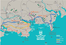 Bay Area Map Map Of Courtmacsherry Bay Area