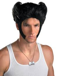 wigs at halloween city x men wolverine origins accessory kit inspiration for
