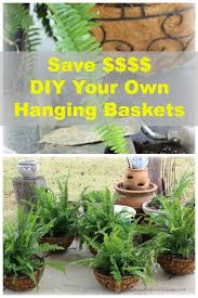 Making Your Own Hanging Planter Baskets Gardens Plants And