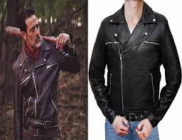 Walking Dead Halloween Costumes Walking Dead Negan Leather Jackets Black Pu Leather Cosplay