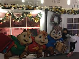 Alvin And The Chipmunks Christmas Ornament - alvin and the chipmunks the road chip times square stage