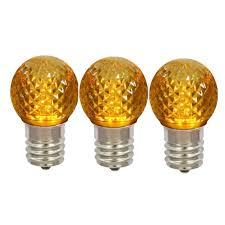 Yellow C9 Lights G30 C9 Led Yellow Bulbs Minleon Brand Commercial