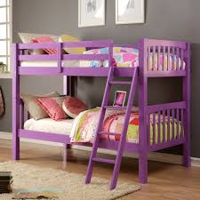 girls loft bed with slide bedroom maximizing kids loft bed idea with slide and ladder feat