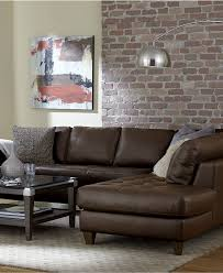 Living Room Furniture At Macy S Furniture Awesome Design Distressed Leather Sectional For