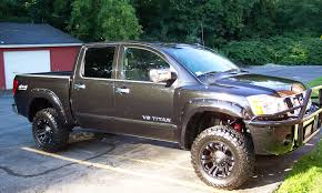 nissan pickup 4x4 lifted 2006 nissan titan specs and photos strongauto