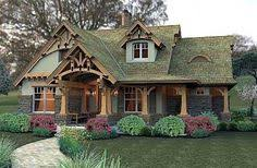 Storybook Cottage House Plans Plan 18255be 3 Bedroom Storybook Bungalow Narrow Lot House