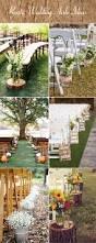 Fall Wedding Aisle Decorations - 48 creative rustic wedding ideas for your big day u2013 stylish wedd blog