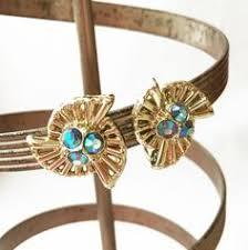 gaudy earrings chunky gold earrings earrings gaudy jewelry chunky