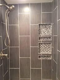 Shower Tile Installation Best 25 Vertical Shower Tile Ideas On Pinterest Bathroom Tile