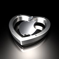 logo bmw 3d apple logo and heart